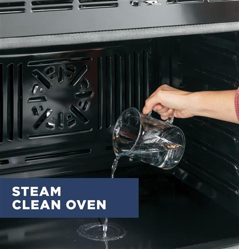 Self-Clean with optional Steam Clean