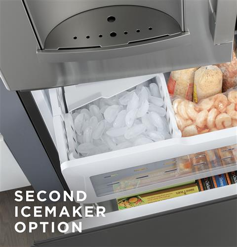 Second icemaker option