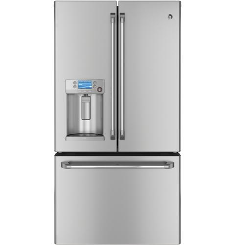 Ge Caf Series 231 Cu Ft Counter Depth French Door Refrigerator