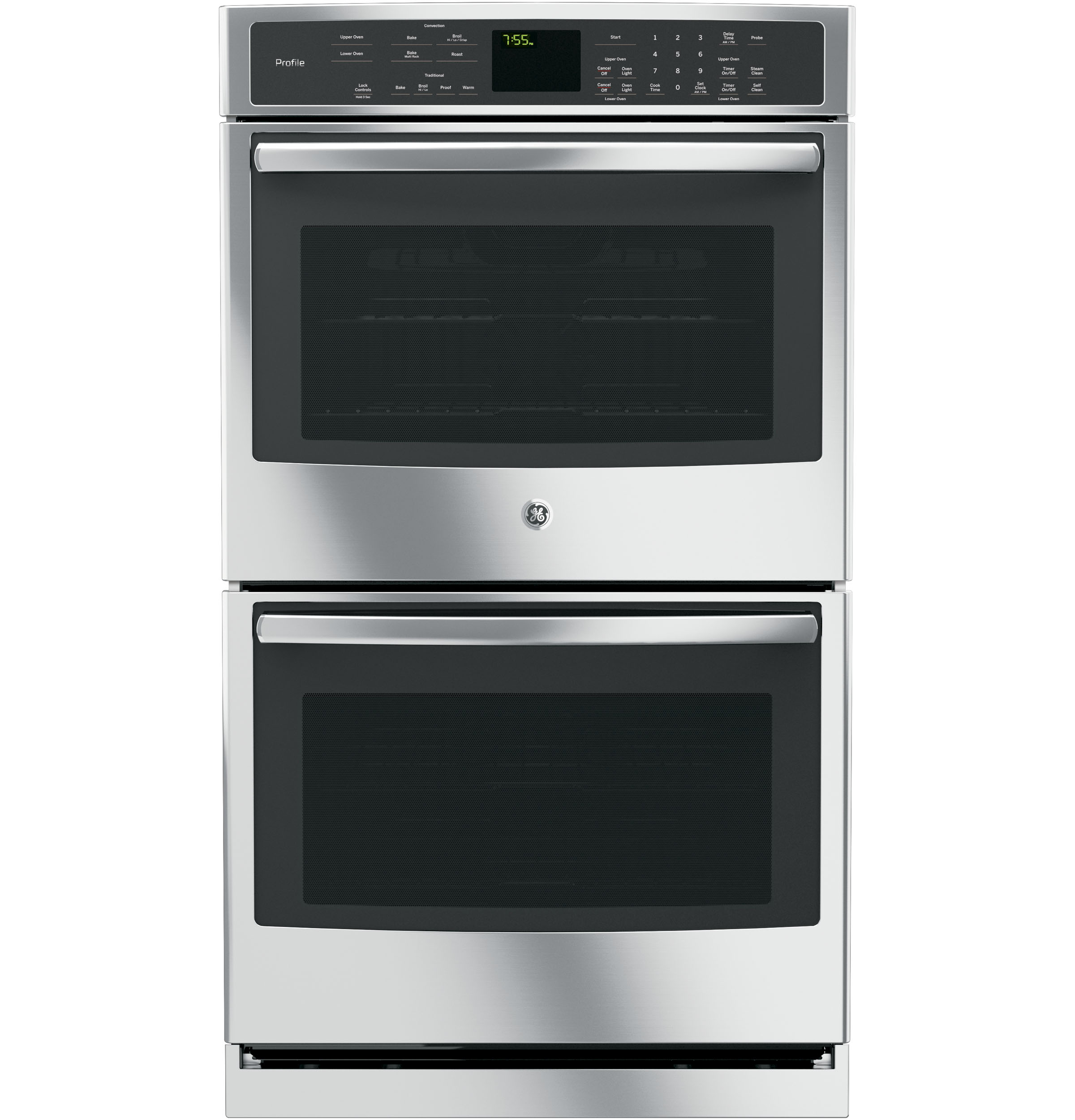 ge profile series 30 built in double wall oven with