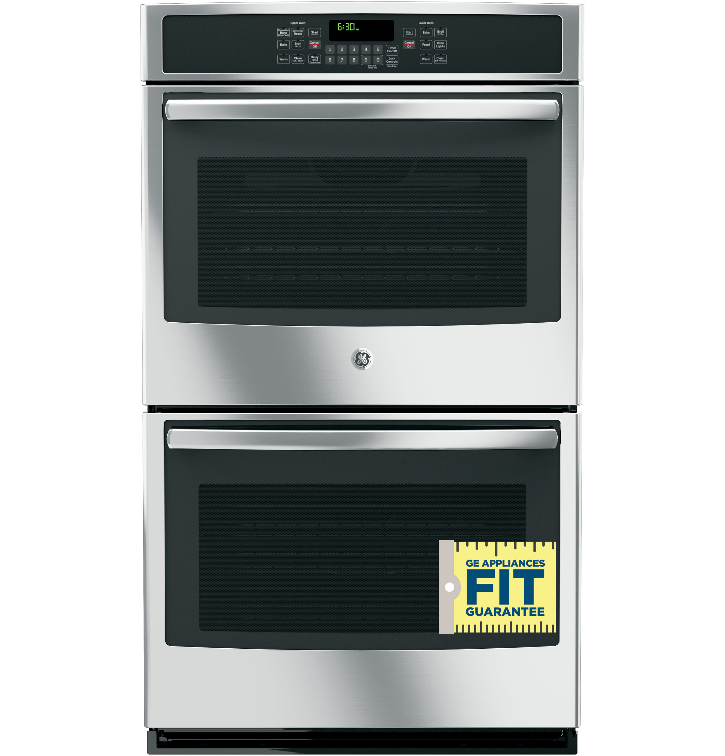 ge® 30 built in double wall oven convection jt5500sfss product image product image