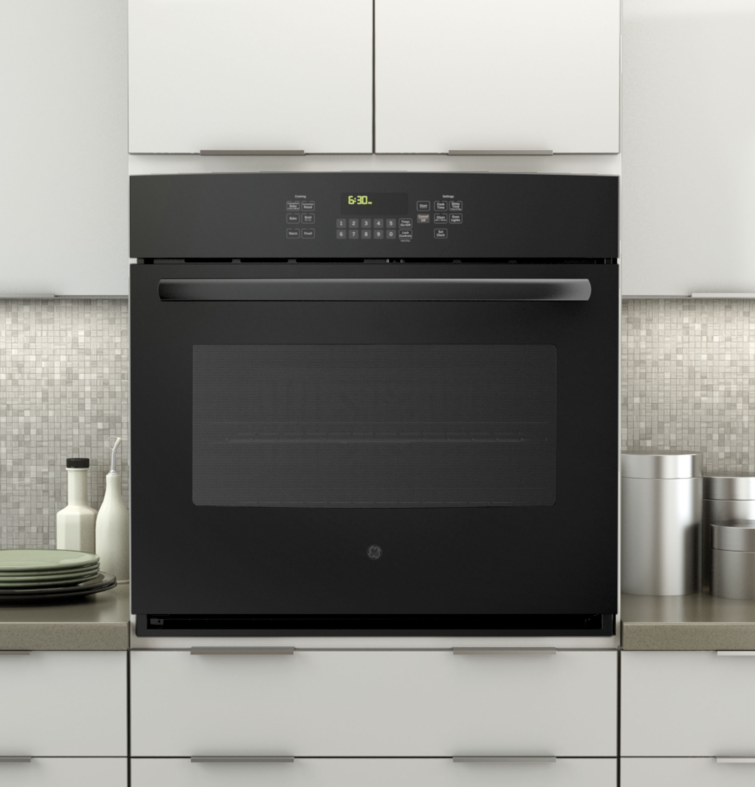Types Of Wall Ovens ~ Ge quot built in single convection wall oven jt dfbb