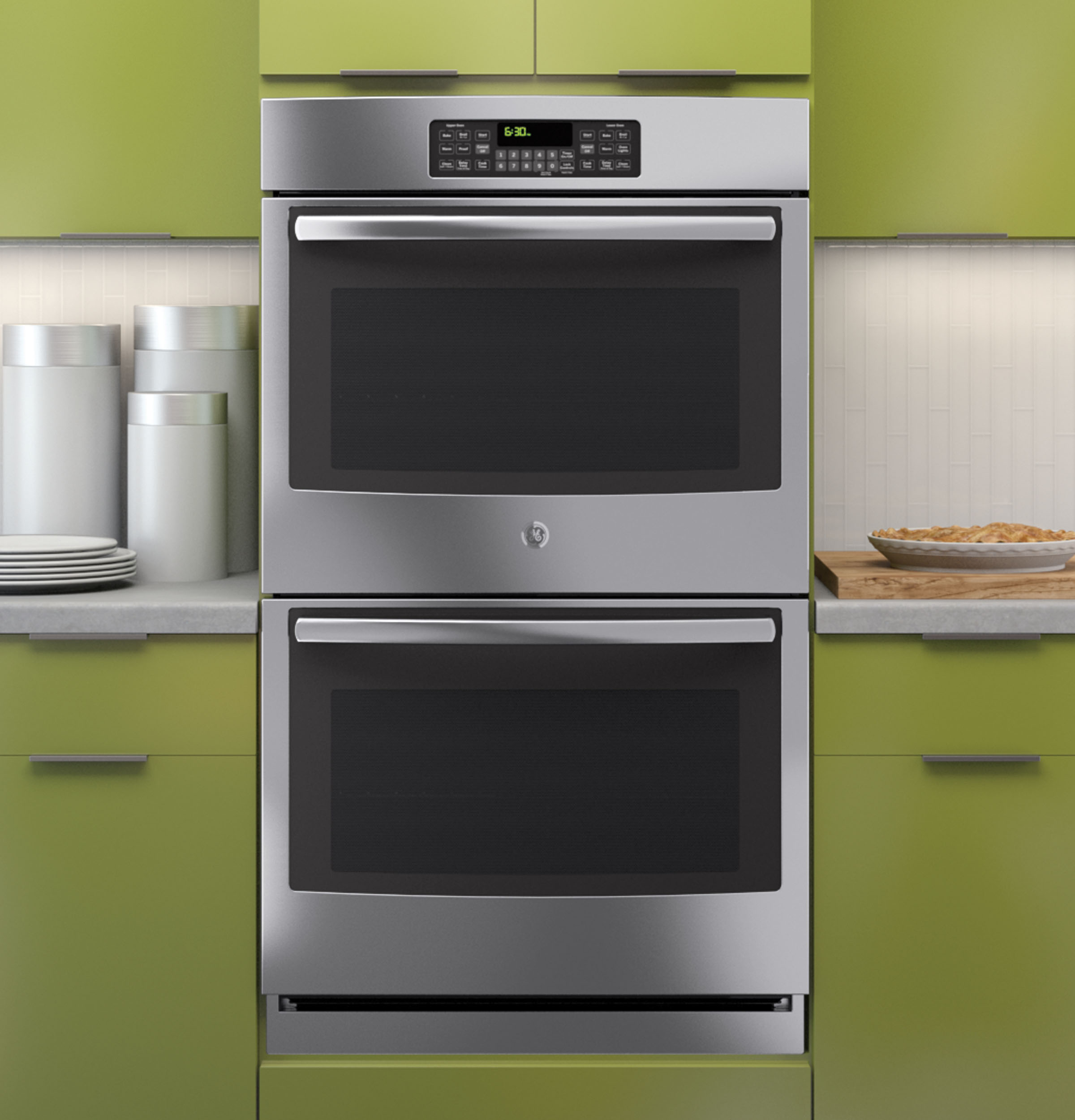 Built In Oven ~ Ge quot built in double wall oven jt sfss appliances
