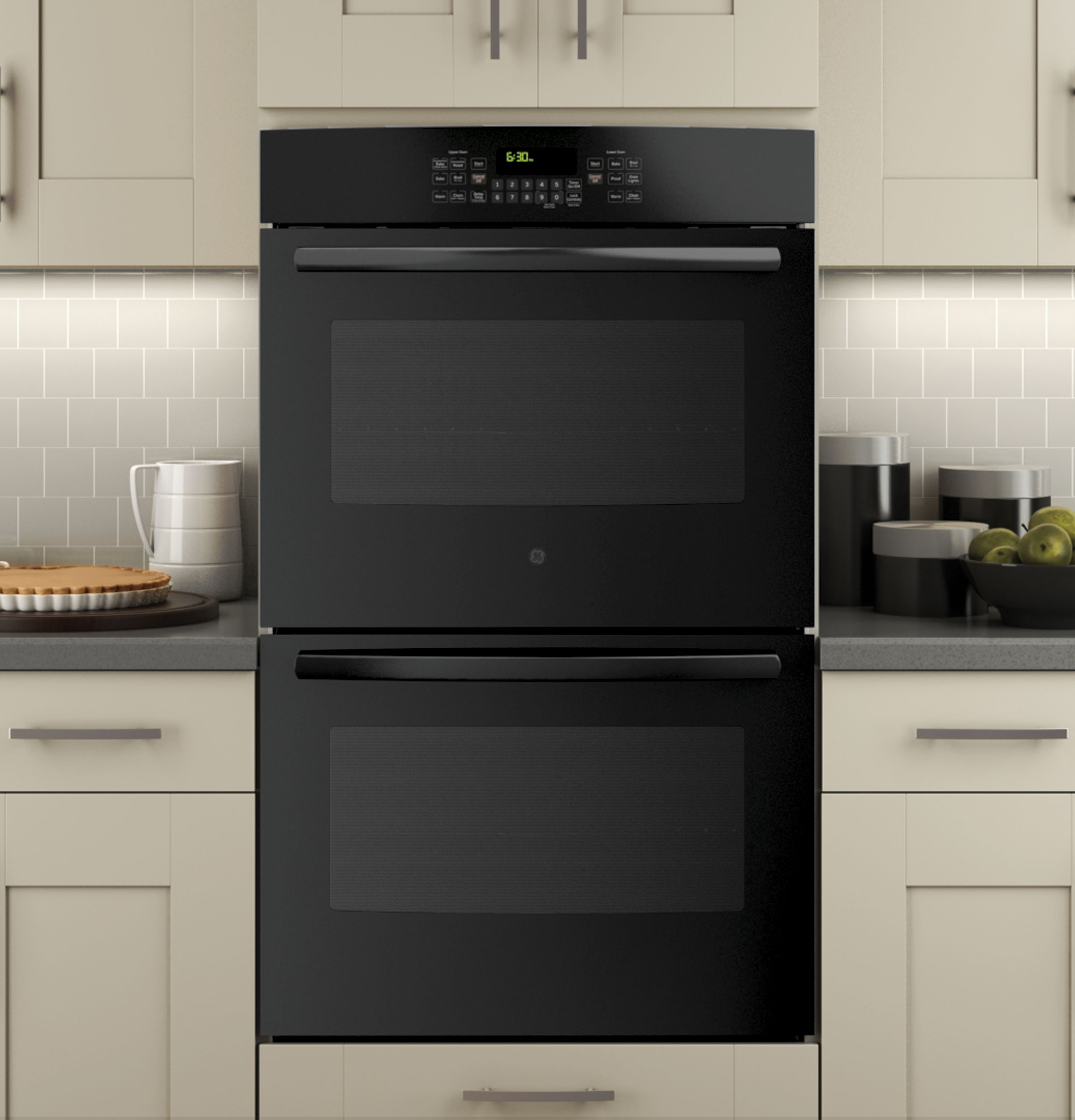 Types Of Wall Ovens ~ Ge quot built in double wall oven with convection