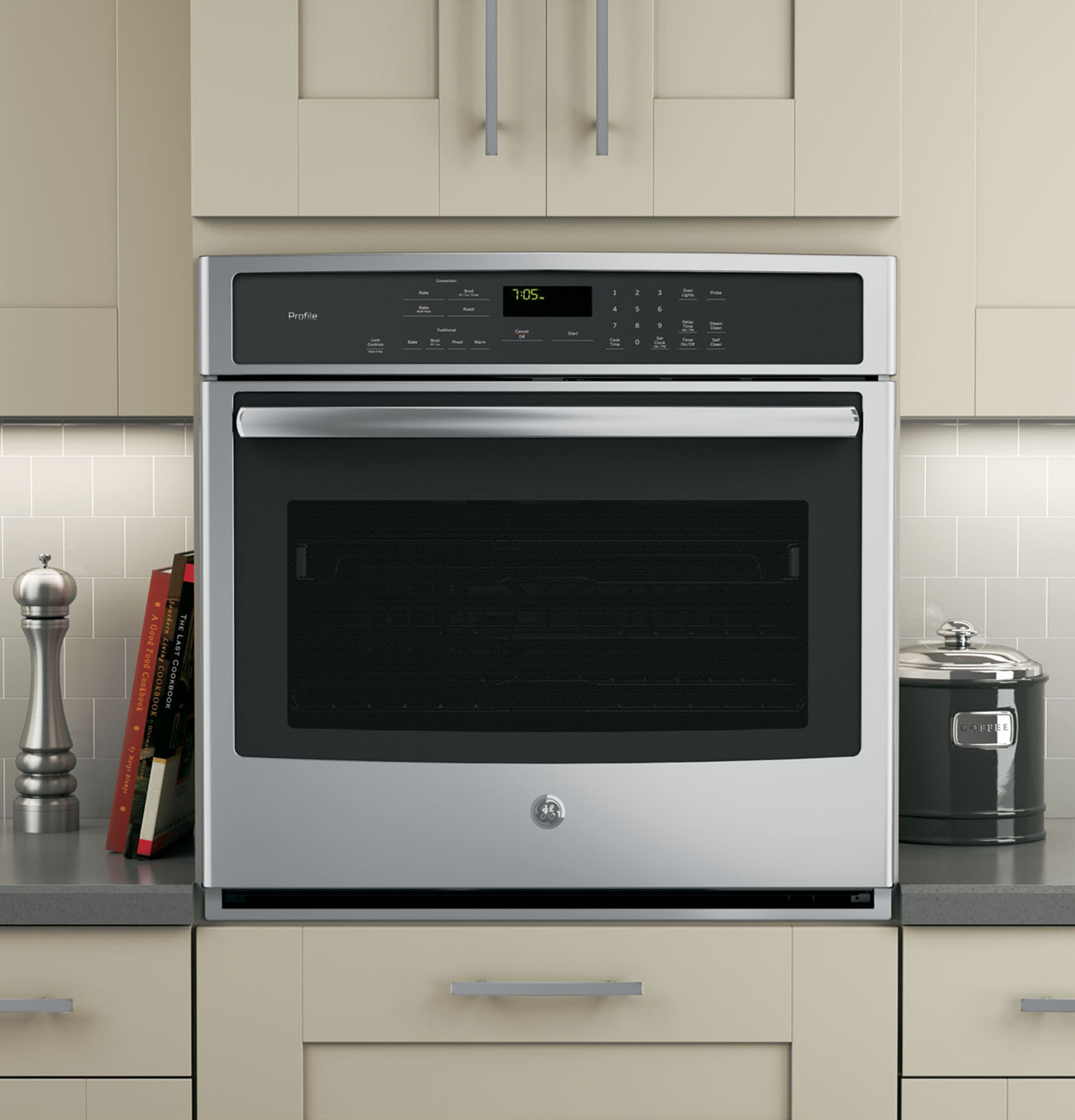 Types Of Wall Ovens ~ Ge profile™ series quot built in single convection wall