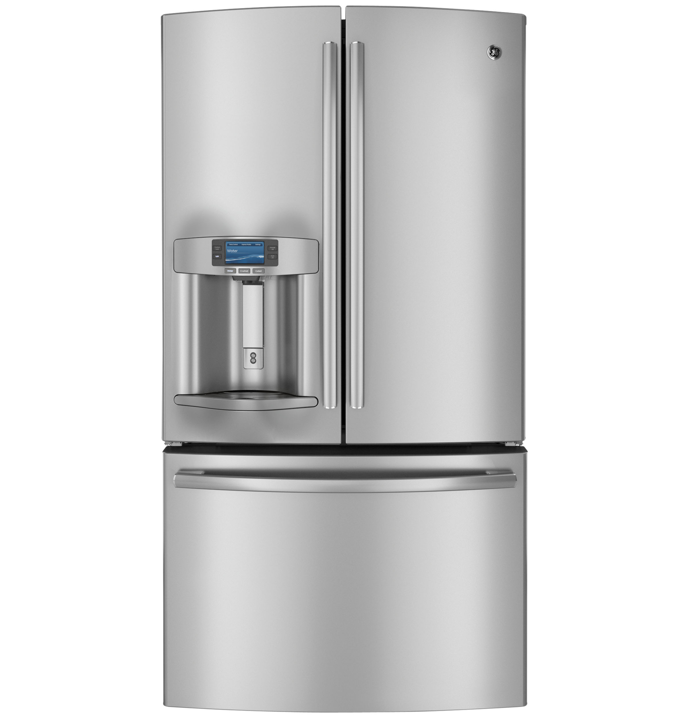 Ge Profile Series 286 Cu Ft French Door Refrigerator
