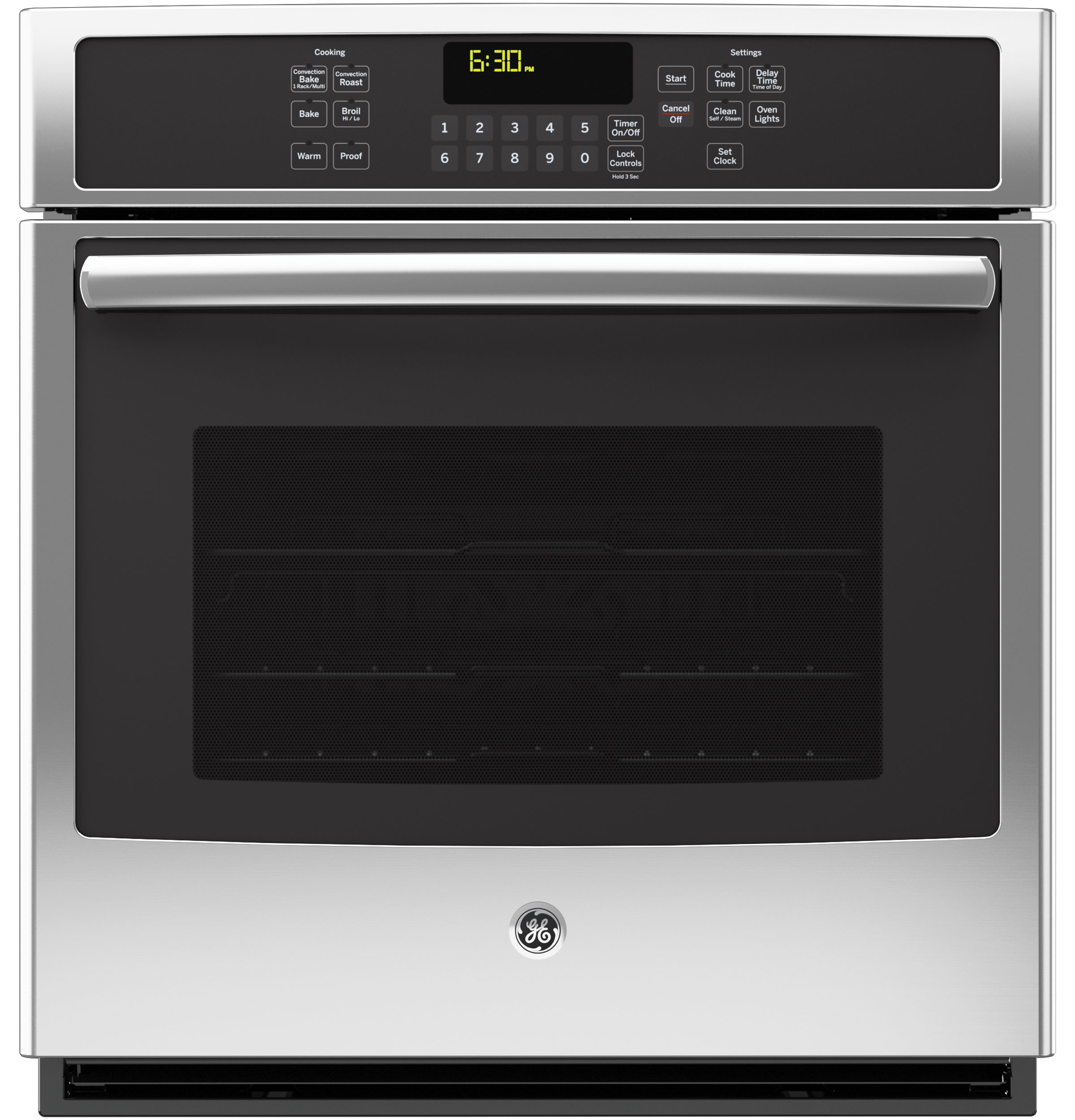Ge 27 built in single convection wall oven jk5000sfss ge product image sciox Gallery