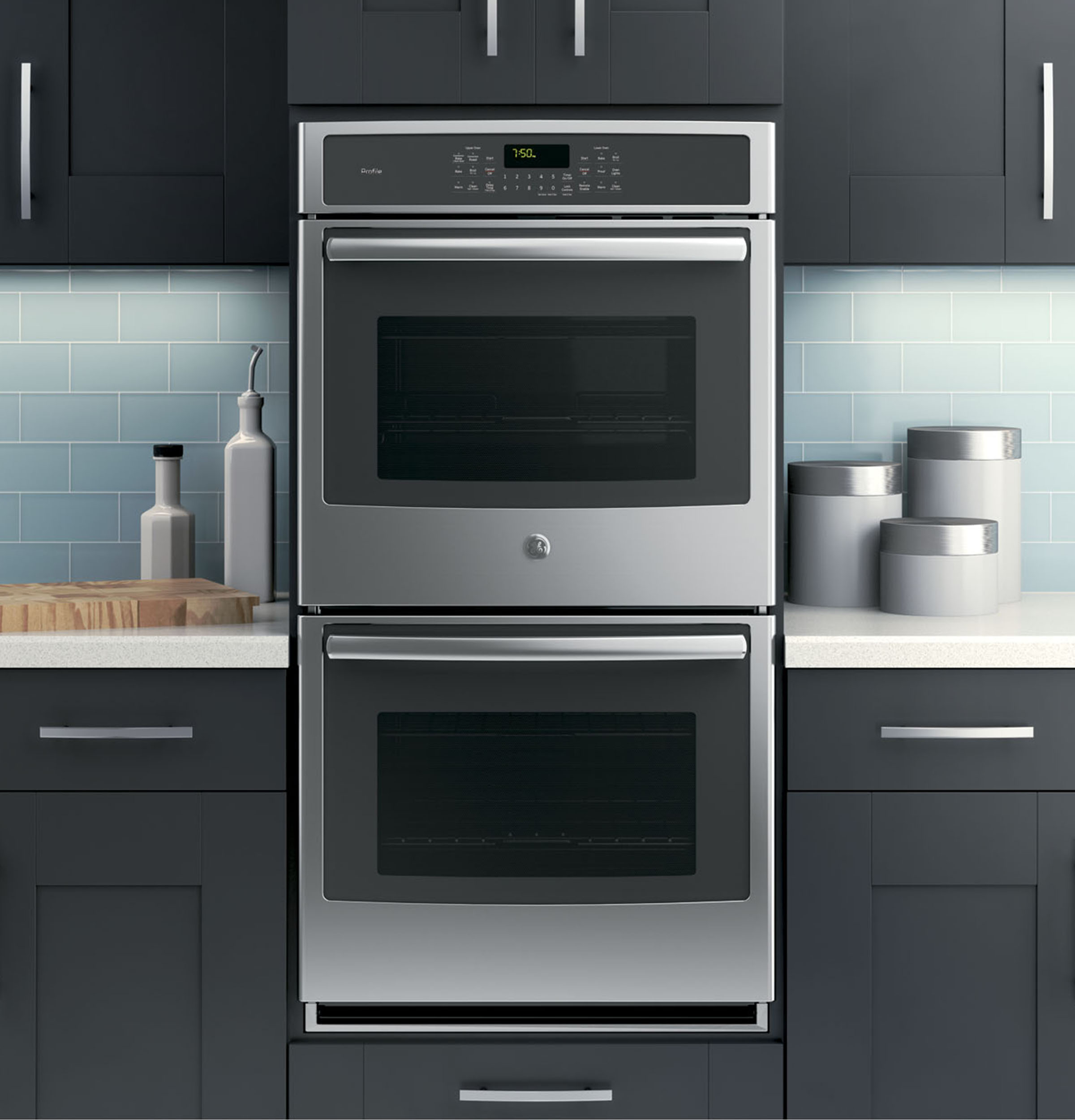 Ge Profile Series 27 Quot Built In Double Convection Wall