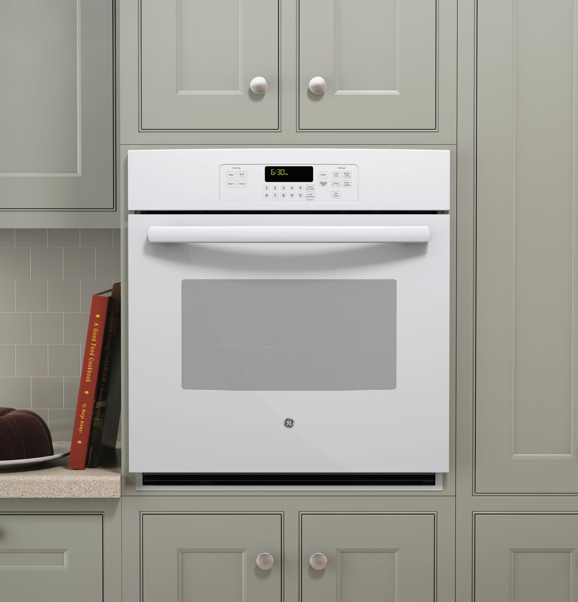 "Wall Oven Cabinets: GE® 27"" Built-In Single Wall Oven"