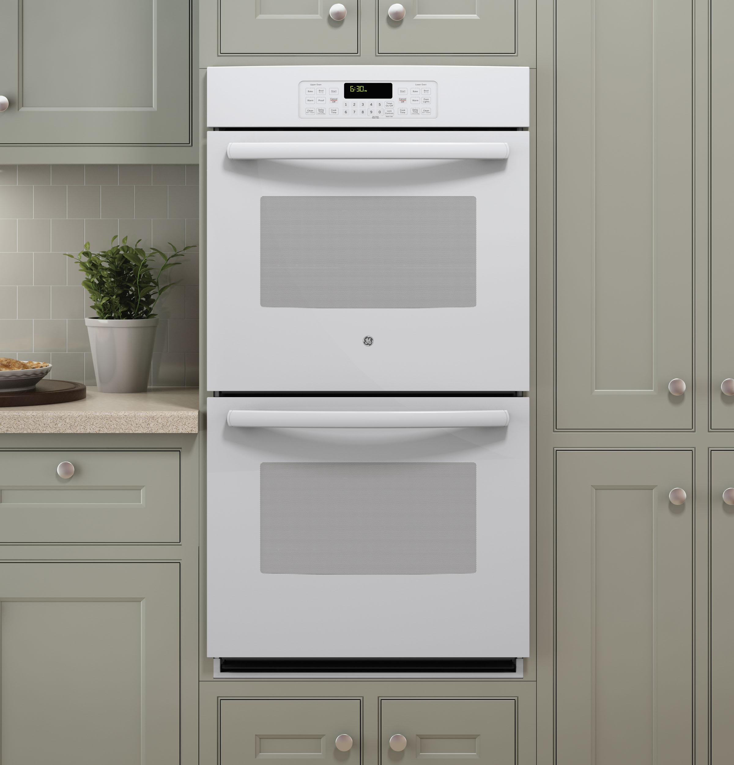 Whirlpool white ice double wall oven - Product Image Product Image