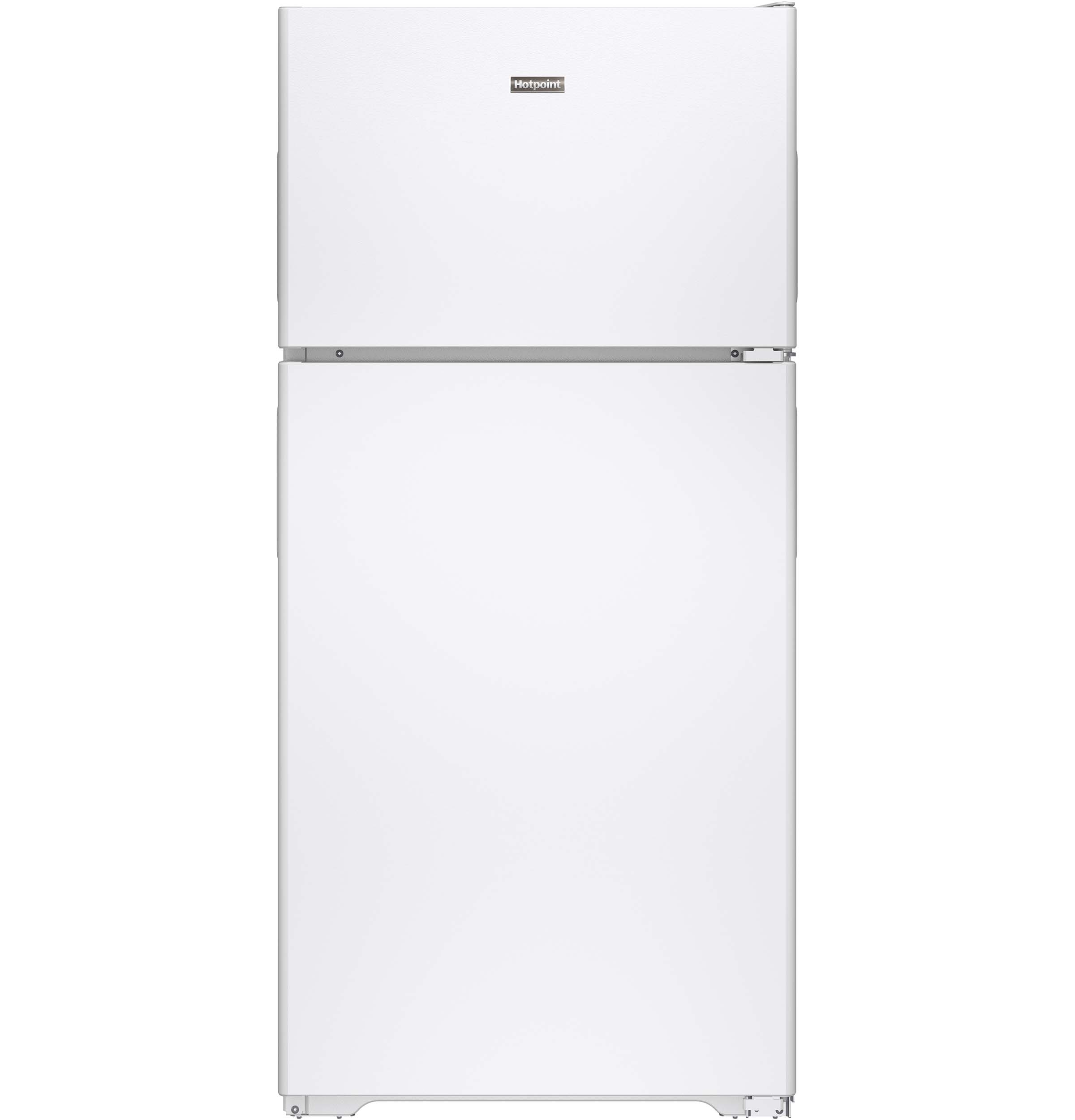 Hotpoint® ENERGY STAR® 14.6 Cu. Ft. Recessed Handle Top-Freezer Refrigerator