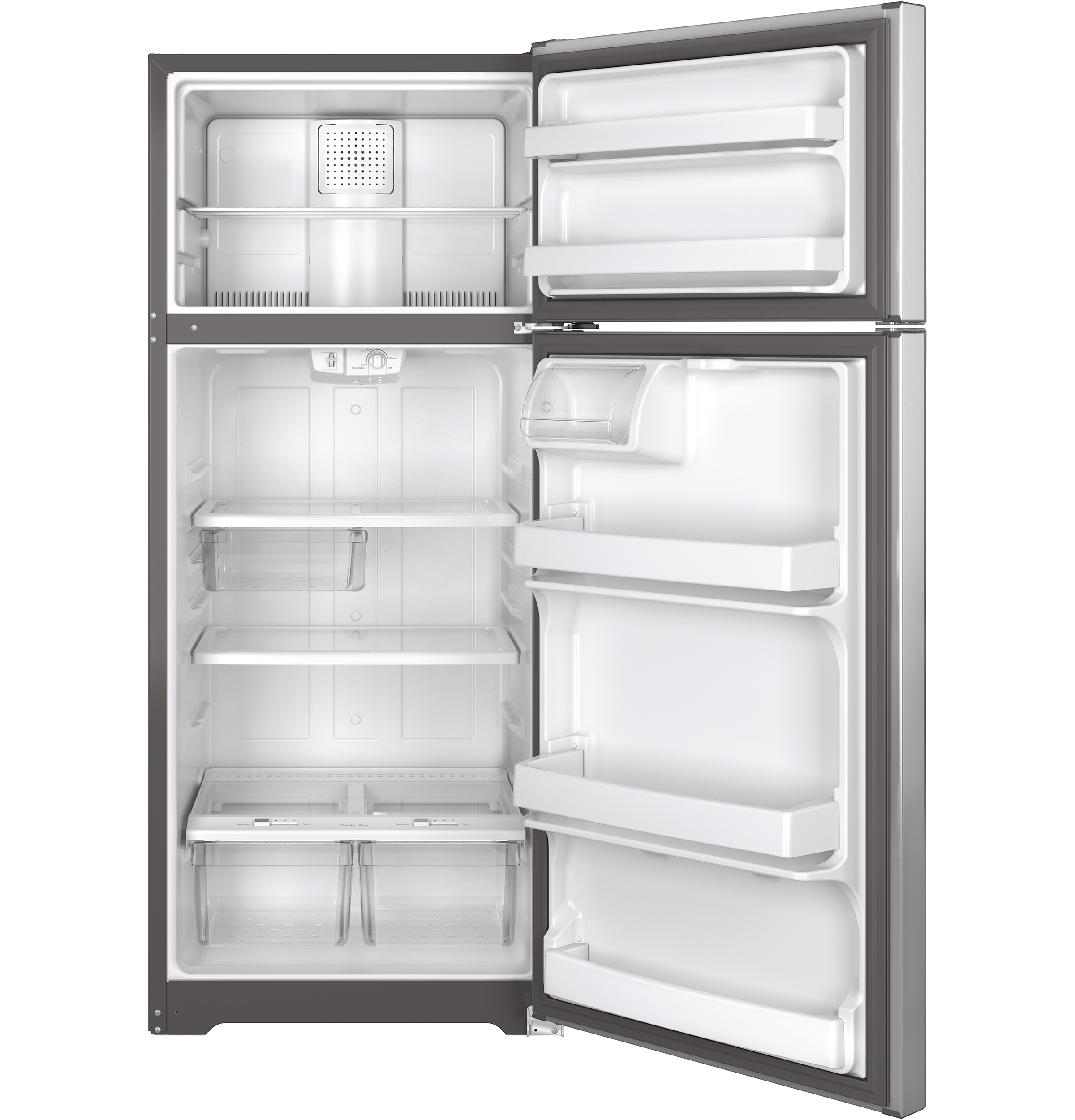Ge 175 Cu Ft Top Freezer Refrigerator Gts18gshss Appliances Dryer Repair Diagram Additionally Haier Wine Cooler Parts Product Image