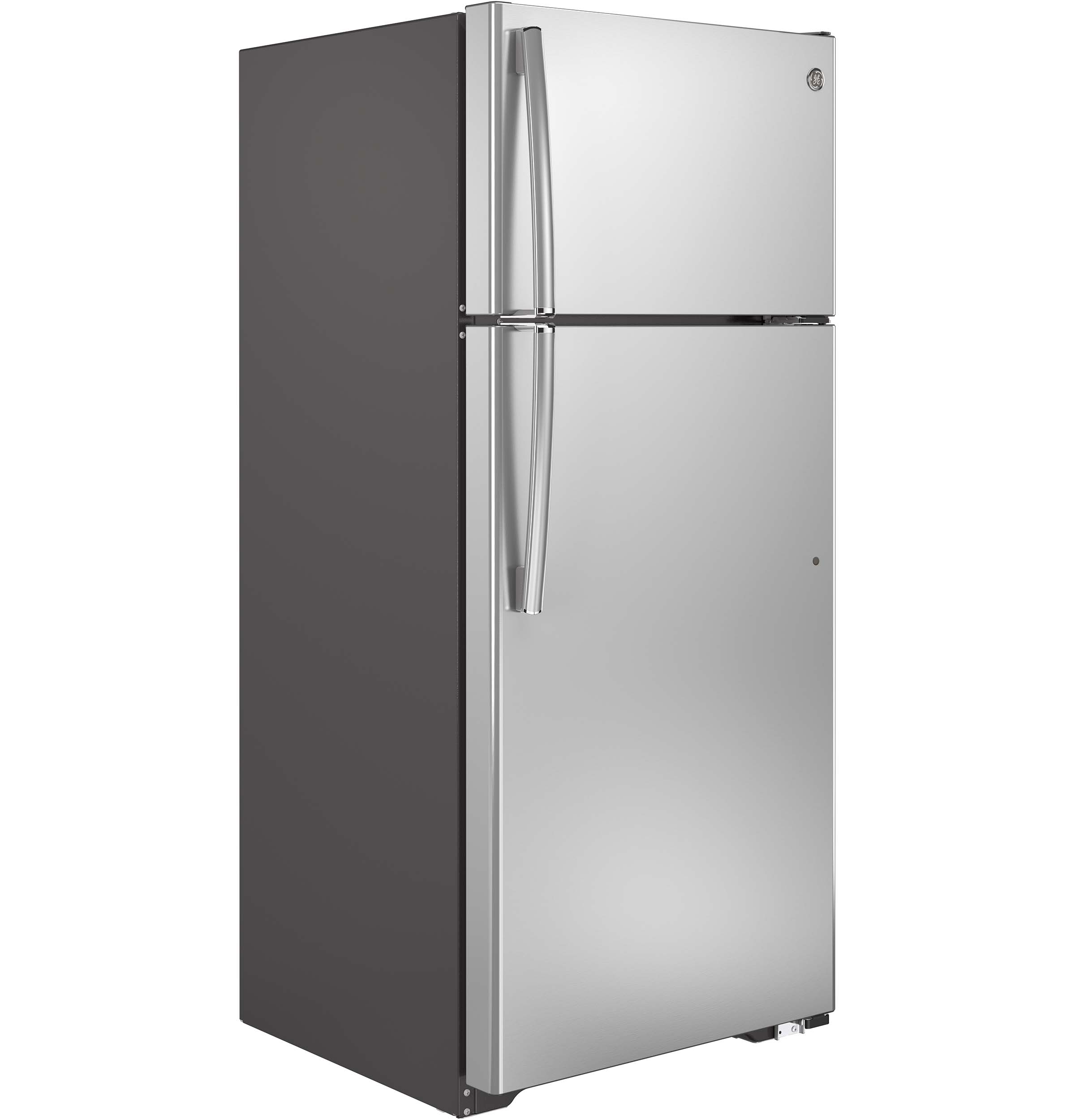 GE® ENERGY STAR® 17.5 Cu. Ft. Top-Freezer Refrigerator ...