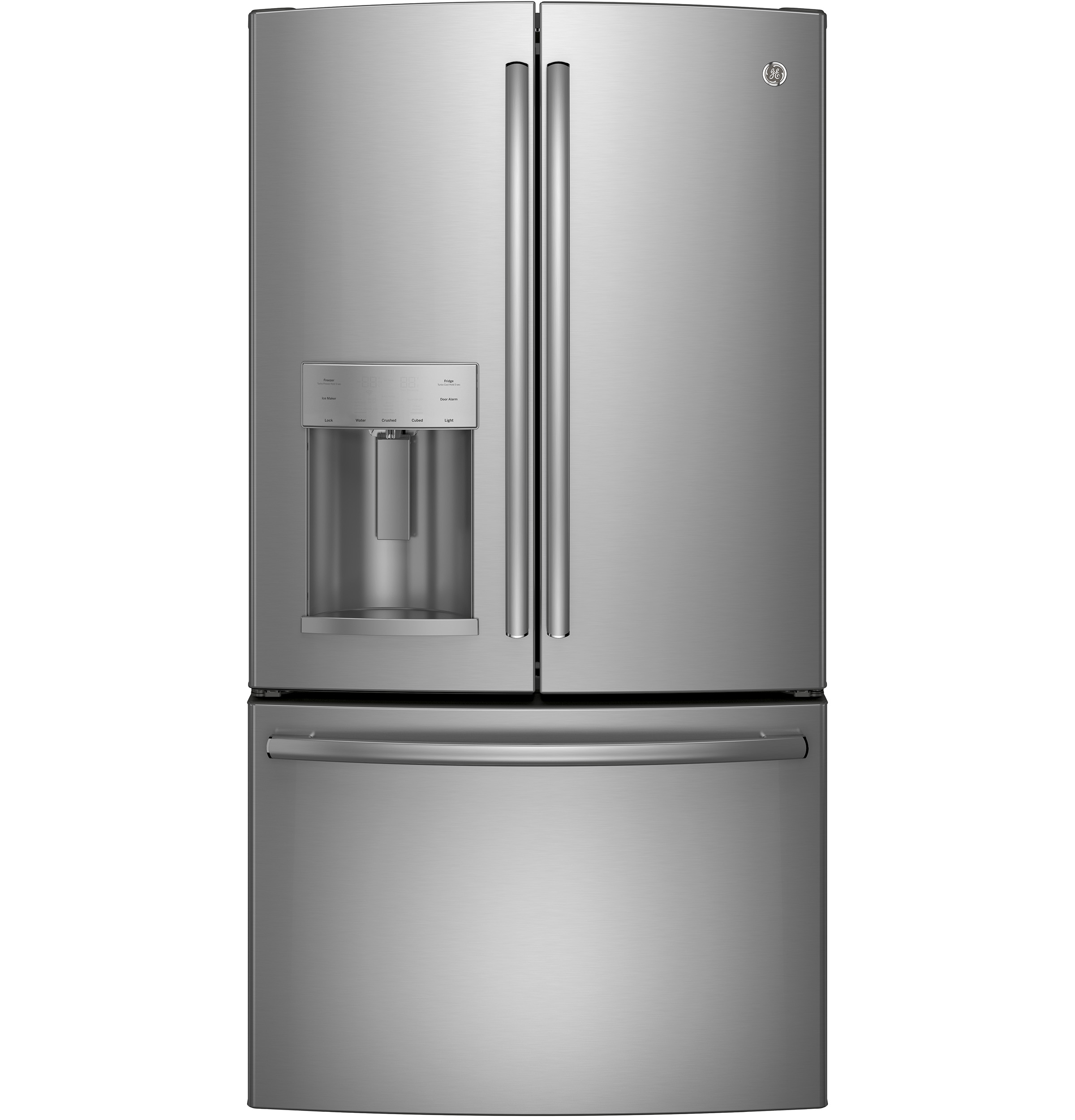 Ge 174 Energy Star 174 25 7 Cu Ft French Door Refrigerator