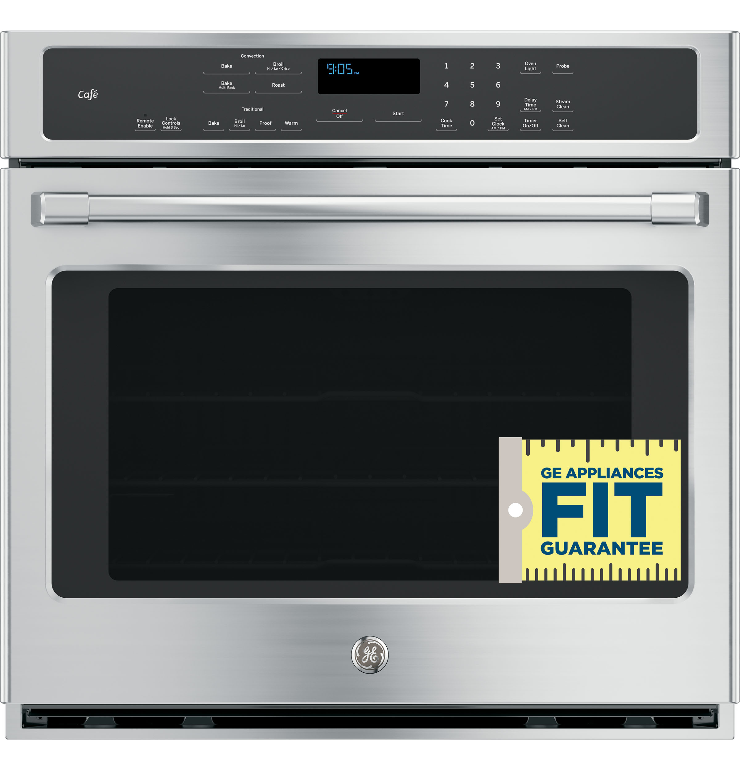 Ge caf series 30 built in single convection wall oven 1 of 23 publicscrutiny Gallery