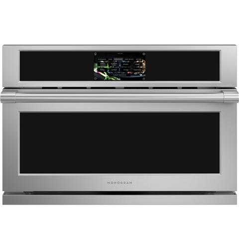 "Thumbnail of Monogram 30"" Smart Five in One Wall Oven with 240V Advantium® Technology 0"