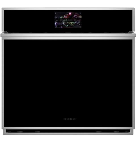 "Thumbnail of Monogram 30"" Smart Electric Convection Single Wall Oven Minimalist Collection 0"