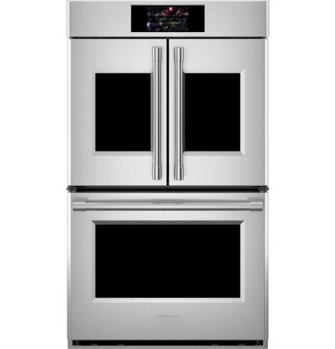"Thumbnail of Monogram 30"" Smart French-Door Electric Convection Double Wall Oven Statement Collection 0"