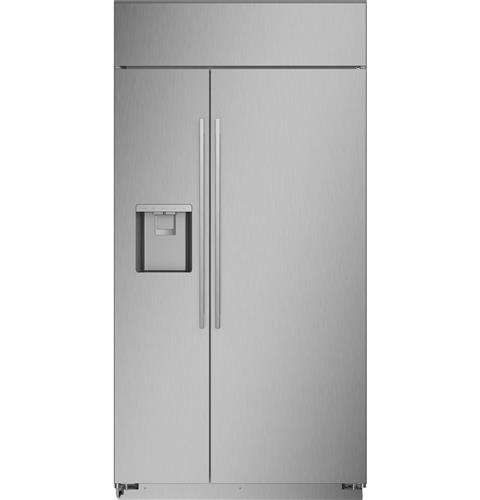 "Thumbnail of Monogram 42"" Smart Built-In Side-by-Side Refrigerator with Dispenser"