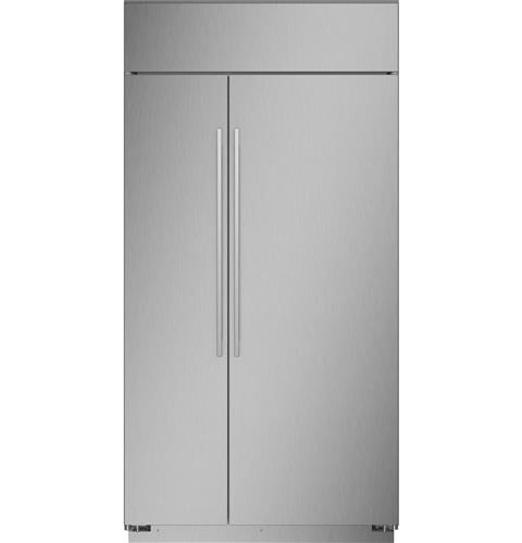 """Thumbnail of Monogram 42"""" Smart Built-In Side-by-Side Refrigerator 1"""