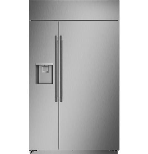 "Thumbnail of Monogram 48"" Smart Built-In Side-by-Side Refrigerator with Dispenser"