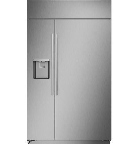 """Thumbnail of Monogram 48"""" Smart Built-In Side-by-Side Refrigerator with Dispenser 1"""