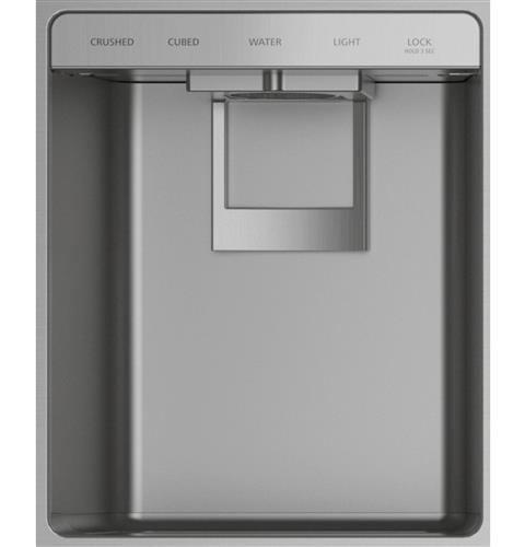"""Thumbnail of Monogram 36"""" Smart Built-In Side-by-Side Refrigerator with Dispenser 2"""
