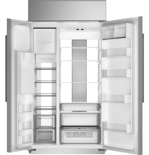 "Thumbnail of Monogram 42"" Smart Built-In Side-by-Side Refrigerator with Dispenser 4"