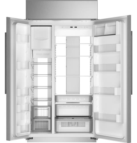 """Thumbnail of Monogram 42"""" Smart Built-In Side-by-Side Refrigerator 2"""