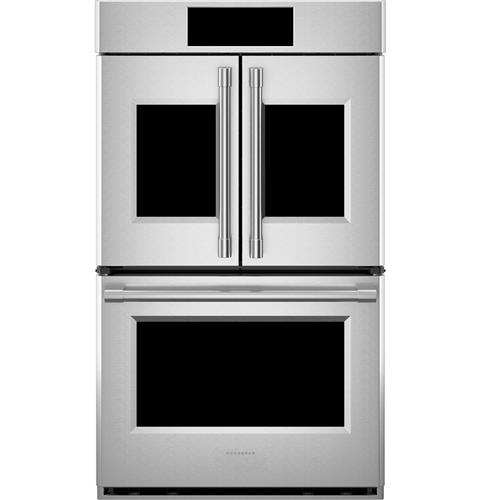 "Thumbnail of Monogram 30"" Smart French-Door Electric Convection Double Wall Oven Statement Collection 1"