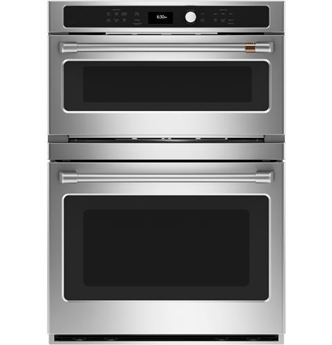 Café™ 30 in. Combination Double Wall Oven with Convection and Advantium® Technology– Model #: CTC912P2NS1