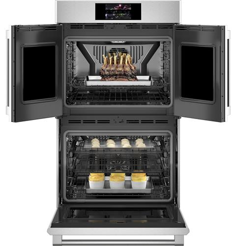 "Thumbnail of Monogram 30"" Smart French-Door Electric Convection Double Wall Oven Statement Collection 4"