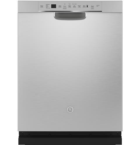 GE® Stainless Steel Interior Dishwasher with Front Controls– Model #: GDF645SSNSS