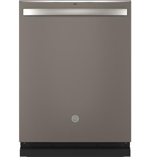 GE® Stainless Steel Interior Dishwasher with Hidden Controls– Model #: GDT665SMNES