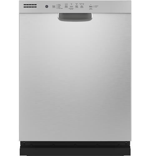 GE® Stainless Steel Interior Dishwasher with Front Controls– Model #: GDF565SSNSS