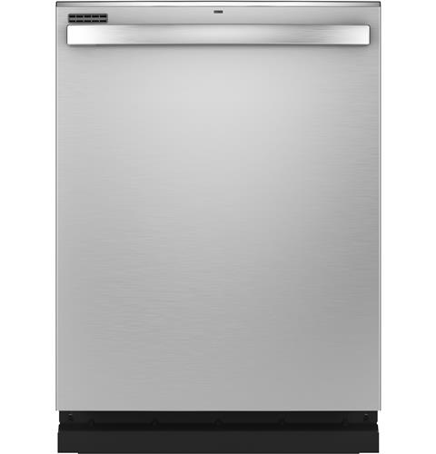 GE® Stainless Steel Interior Dishwasher with Hidden Controls– Model #: GDT565SSNSS