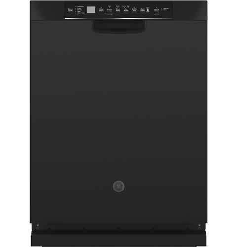 GE® Stainless Steel Interior Dishwasher with Front Controls– Model #: GDF645SGNBB