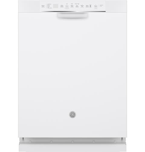 GE® Stainless Steel Interior Dishwasher with Front Controls– Model #: GDF645SGNWW