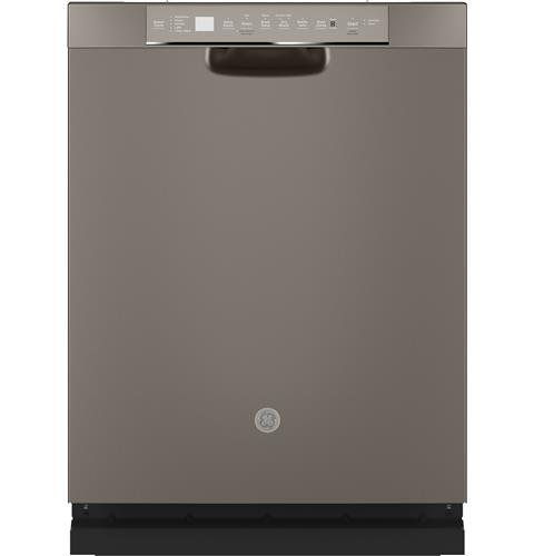 GE® Stainless Steel Interior Dishwasher with Front Controls– Model #: GDF645SMNES