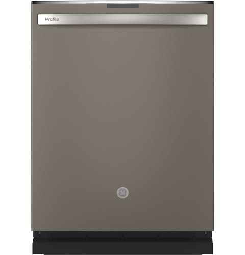 GE Profile™ Stainless Steel Interior Dishwasher with Hidden Controls– Model #: PDT715SMNES