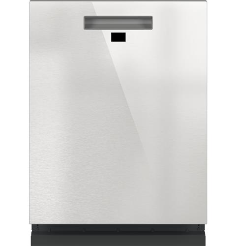 Café™ Smart Stainless Steel Interior Dishwasher with Sanitize and Ultra Wash & Dual Convection Ultra Dry in Platinum Glass