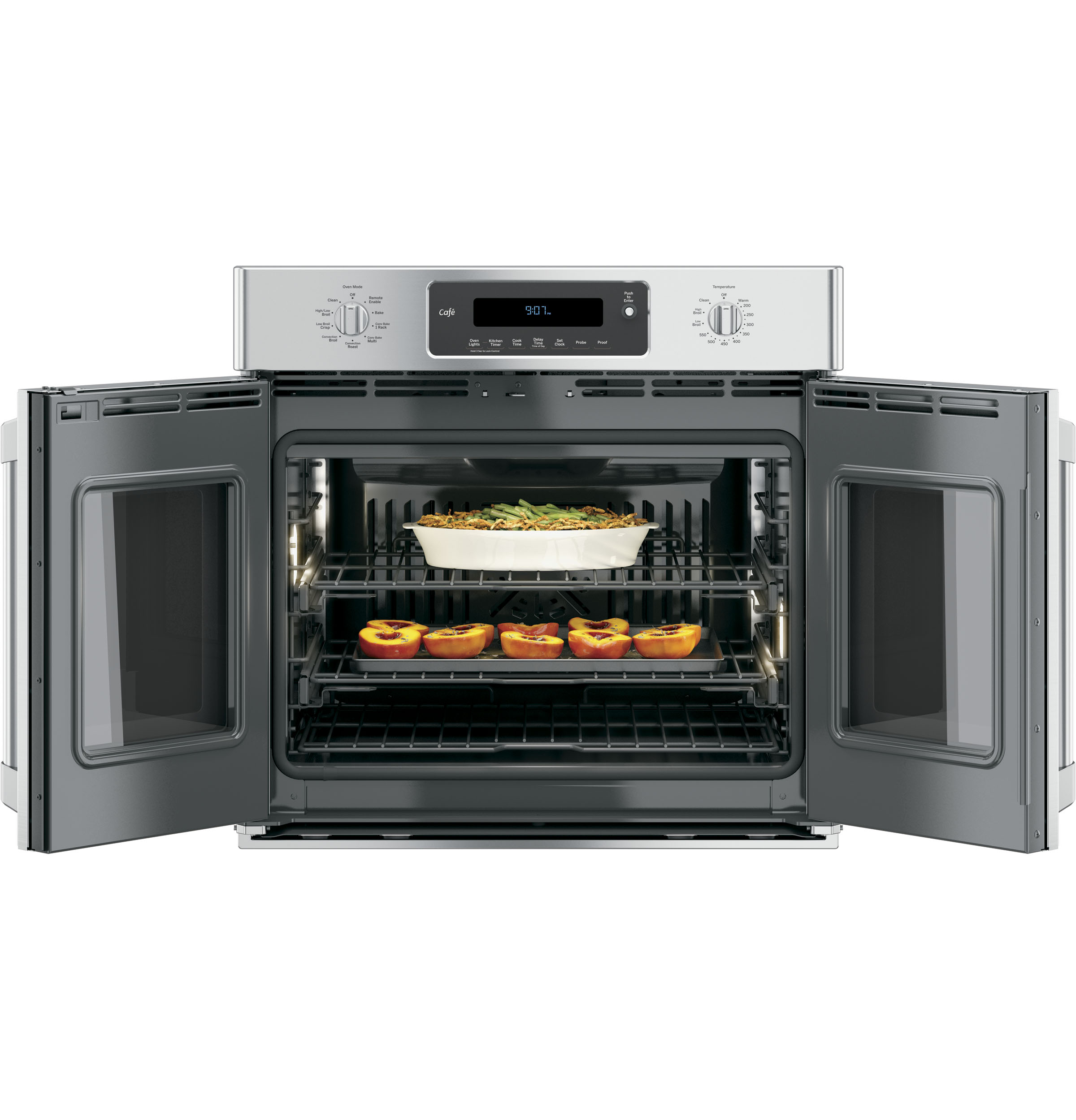 Ge Café Series 30 Built In French Door Single Convection