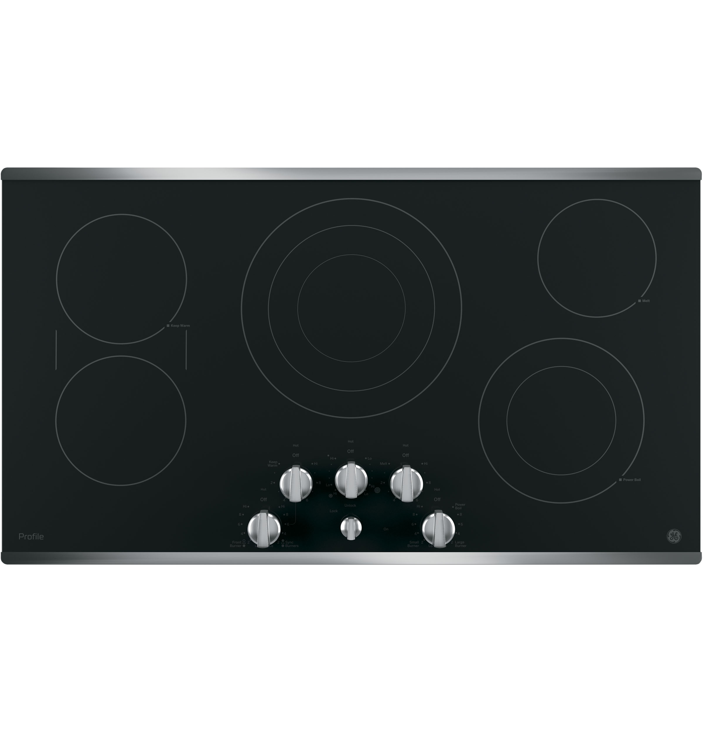 Ge Profile Series 36 Built In Knob Control Cooktop Pp7036sjss Wiring Diagram 240v Product Image