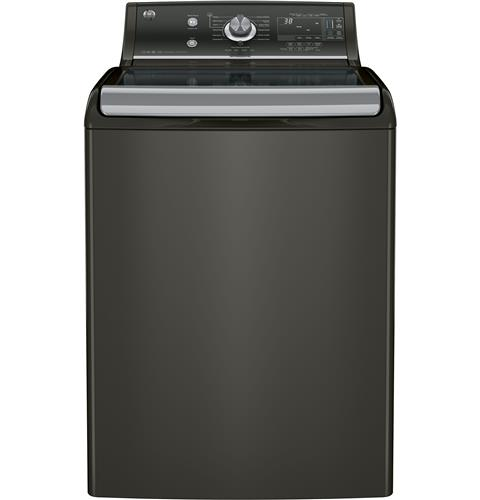 GE® 5.1 DOE cu. ft. capacity washer with SmartDispense™ Technology– Model #: GTW860SPJMC