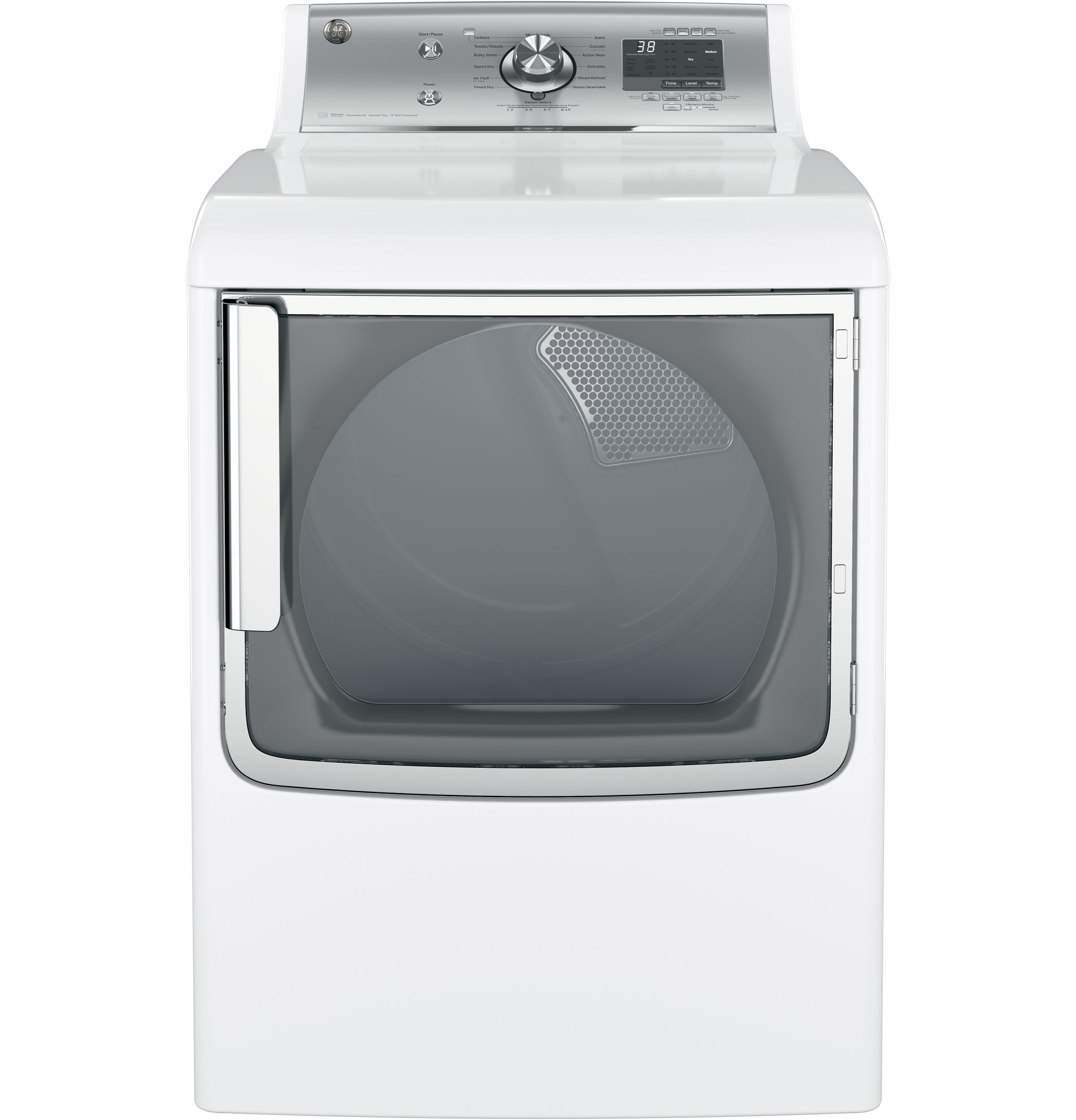 Ge 174 7 8 Cu Ft Capacity Electric Dryer With Stainless