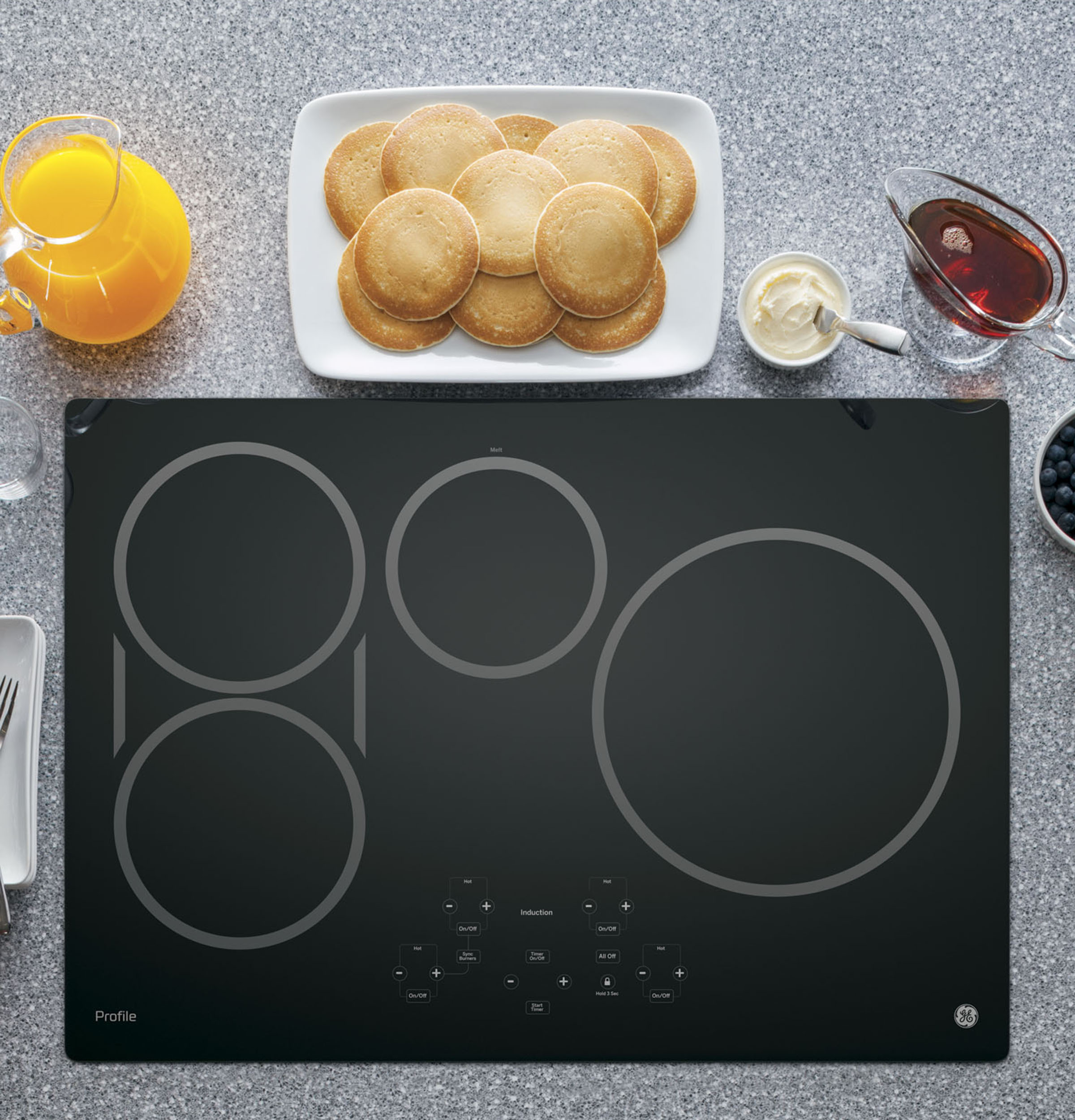 induction cooktop installation instructions