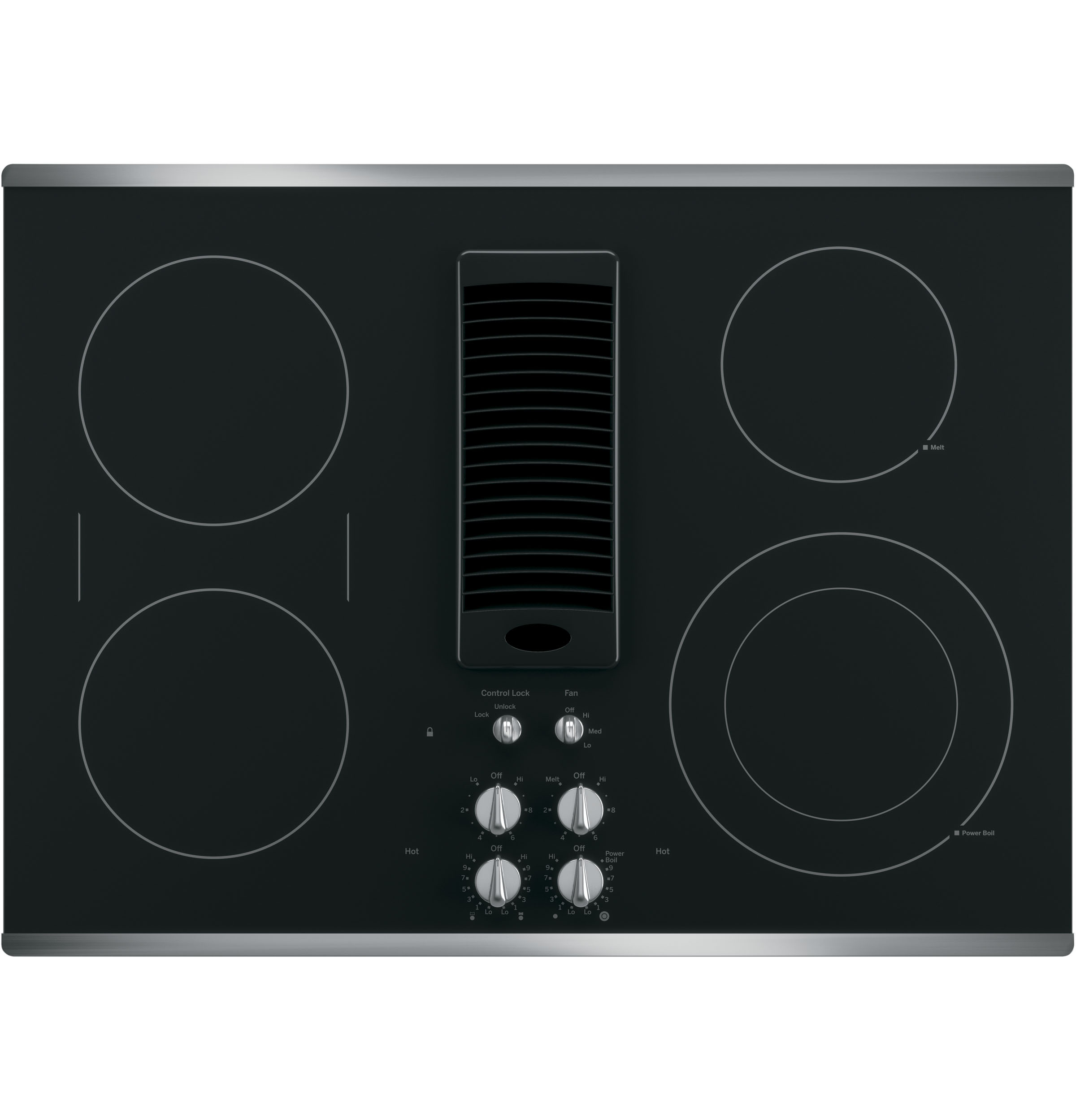 Ge Profile Cooktop ~ Ge profile™ series quot downdraft electric cooktop