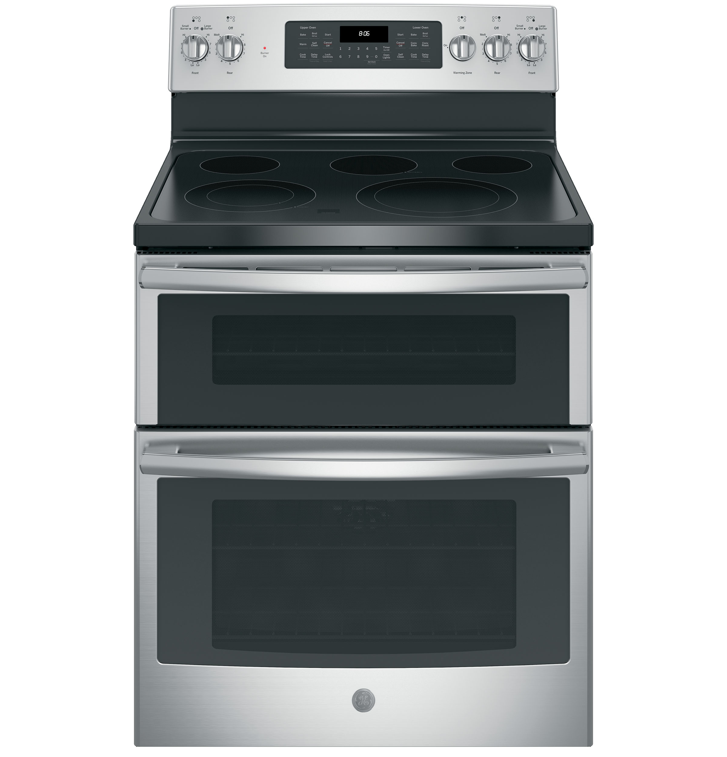 ge 30 free standing electric double oven convection range jb860sjss ge appliances. Black Bedroom Furniture Sets. Home Design Ideas