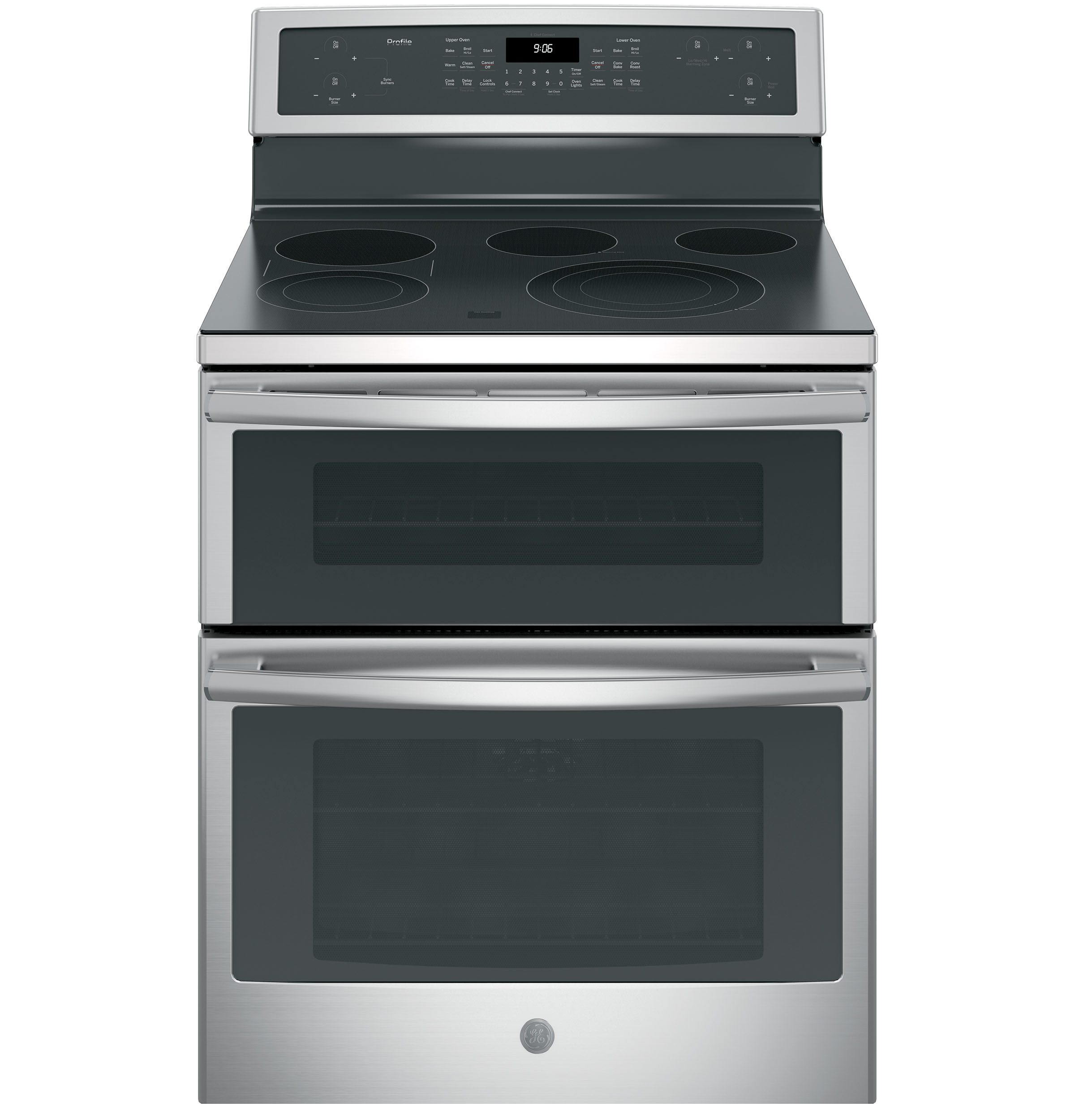 Double Oven Range ~ Ge profile™ series quot free standing electric double oven