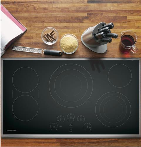"Thumbnail of Monogram 36"" Touch Control Electric Cooktop 1"